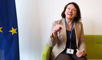 European Institute for Gender Equality director Virginija Langbakk.