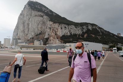 The airport at Gibraltar on June 24.