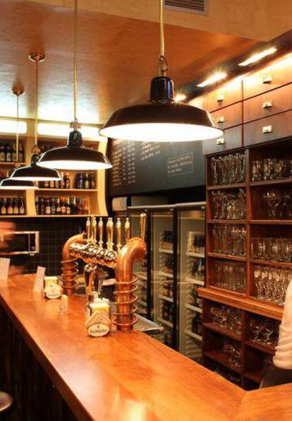 The Oldenburg, bar in Madrid.