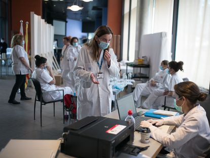 The Princess Hotel in Barcelona is being used by Hospital del Mar to quarantine patients who have been discharged but cannot self-isolate at home.