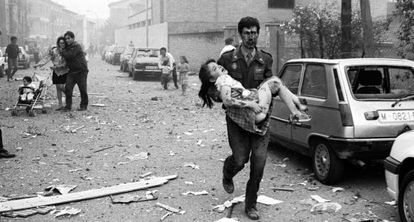 An ETA attack in Vic (Barcelona) killed 10 people on May 29, 1991.