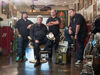 US documentary series 'Pawn Stars' was one of Xplora's most popular shows.