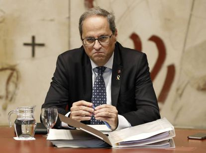 Catalan premier Quim Torra wants to meet with Spanish PM Pedro Sánchez.