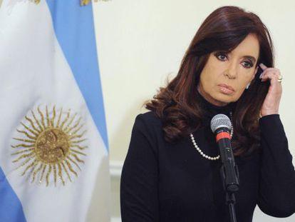 Argentinean President Cristina Fernández.