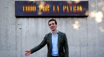 New PP leader Pablo Casado.