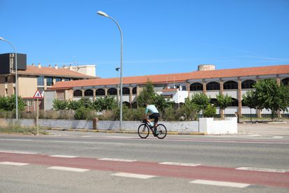 Daurada Park Hotel, in Cambrils, where police found a cybercurrency operation in the basement.