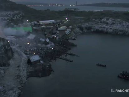 Some of the special effects from season five of Game of Thrones.