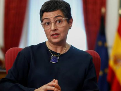 Spain's Foreign Minister Arancha Gonzalez Laya in a file photo.