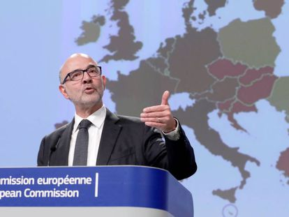 Pierre Moscovici, EU economic and finance commissioner.