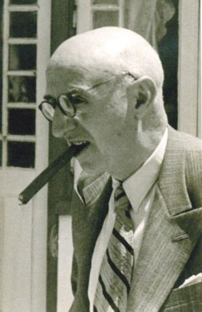 Multi-millionaire businessman Juan March in Estoril, Portugal, in 1943.