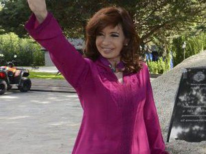 President Cristina Fernández de Kirchner.