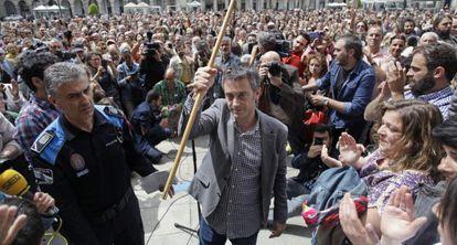 Mayor Xulio Ferreiro of left-leaning Marea Atlántica (Atlantic Tide) party.