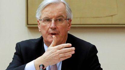 The EU Brexit negotiator Michel Barnier.