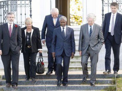 International mediators have been criticized for the lack of progress in ETA's disarmament.