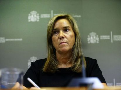 Ana Mato, who resigned on Wednesday from her role as Spain's health minister.