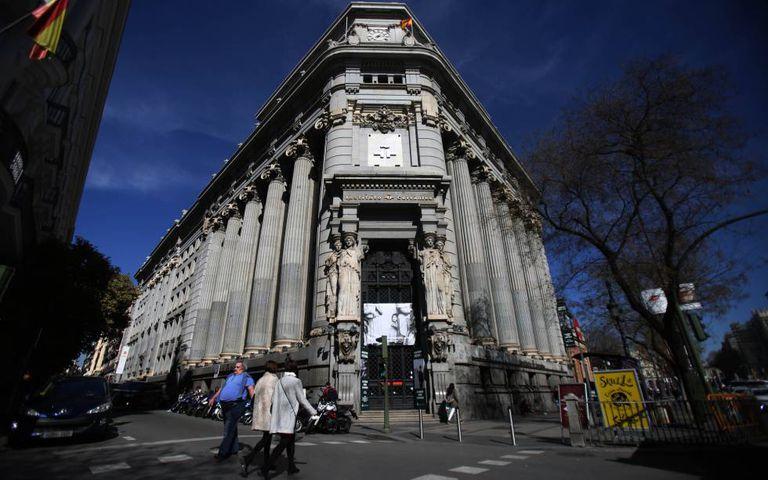 The Cervantes Institute headquarters in Madrid.