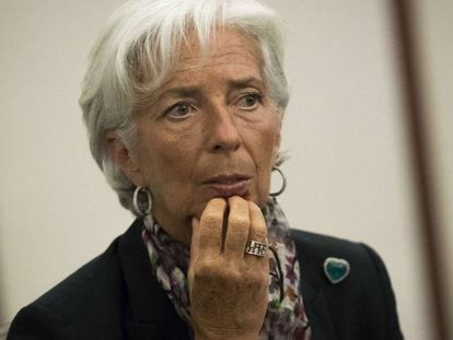 IMF chief Christine Lagarde, pictured in New York this week.