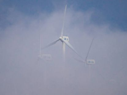 A wind farm in Muras (Lugo).