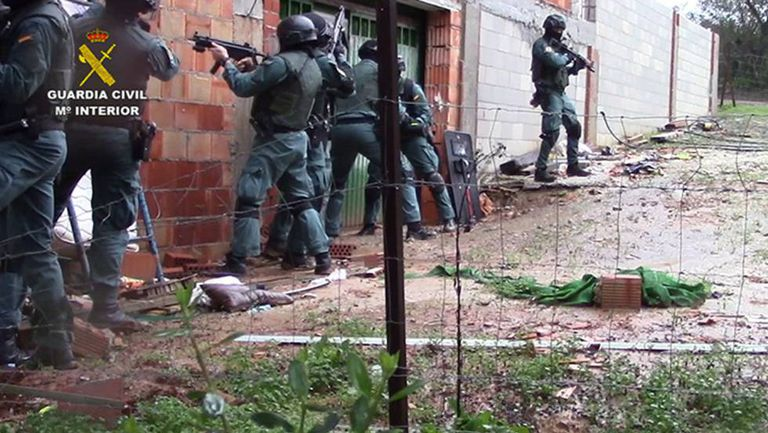 Photo from the operation provided by the Civil Guard.