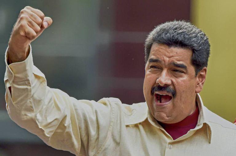 Venezuela's President Nicolás Maduro in Caracas last week.