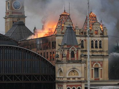 Video: The museum on fire (Spanish captions).