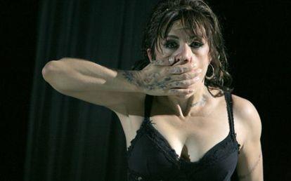 Blanca Portillo in a 2009 production of Medea at Mérida.