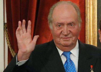 Former Spanish King Juan Carlos.