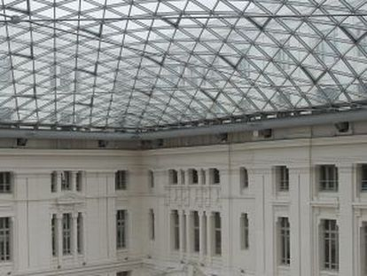 The inside of Madrid City Hall following restoration work in 2011.