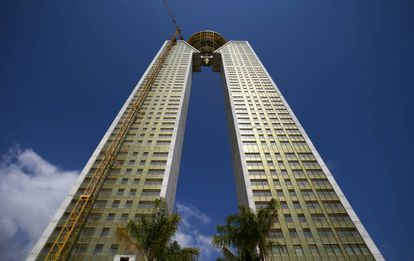 Intempo Tower is still uninhabited but new owners hope to put it on the market soon.