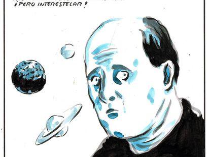 """I'm in favor of nationalism... but interstellar!"""