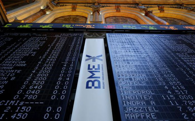 The Ibex 35 index of leading Spanish companies gained 18.6 percent this year, but analysts say that shares are still undervalued.