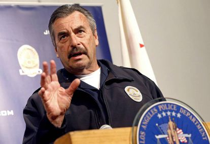 LAPD Chief Charlie Beck.