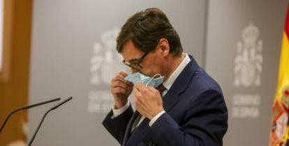Spanish Health Minister Salvador Illa.