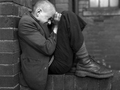 'Youth on Wall, Jarrow, Tyneside, 1976,' by Chris Killip.