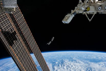 Nanosatellites launched in February from the International Space Station.