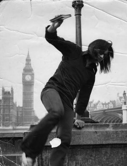Rodriguez in an image taken in 1970s London.