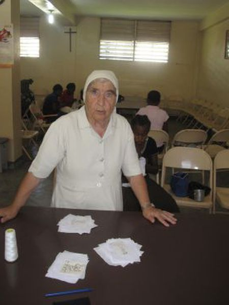 Milagros Caballero has been a missionary in Haiti for the last 40 years.