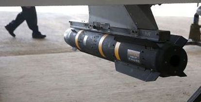 A Heillfire missile similar to one shipped to Havana by mistake.