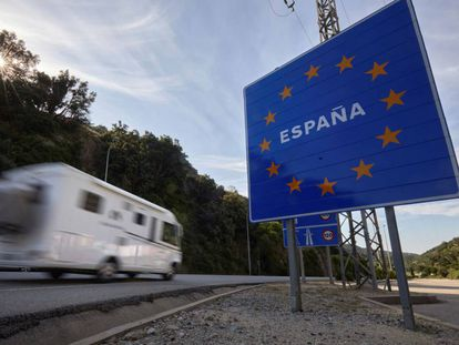 Road travel from France will undergo border checks starting on Tuesday.