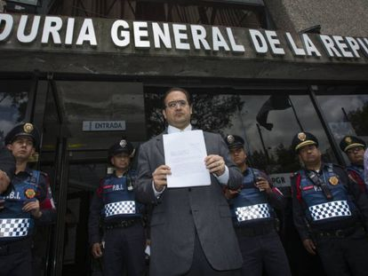 Javier Duarte, governor of Mexico's Vera Cruz state, is being investigated for corruption.