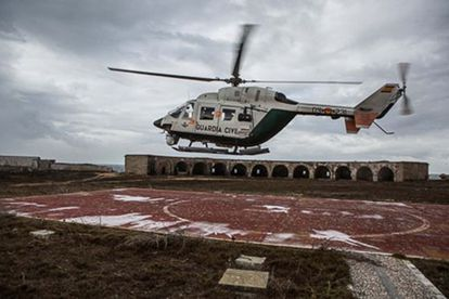 The Civil Guard has a fleet of 36 helicopters and two CN-235 planes.