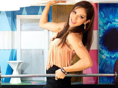 Sandra Casar in the 'Big Brother' house.