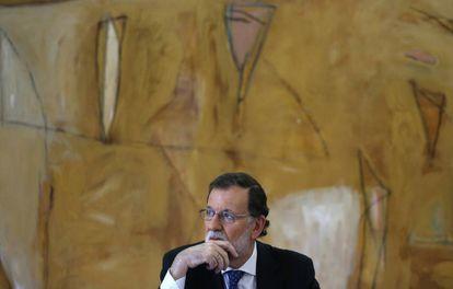 Spanish PM Rajoy.