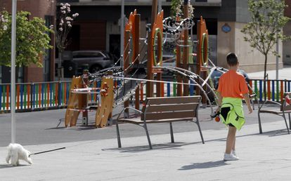 Playgrounds will remain off limits for children despite the easing of restrictions.