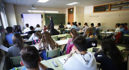 English language students in Spain.
