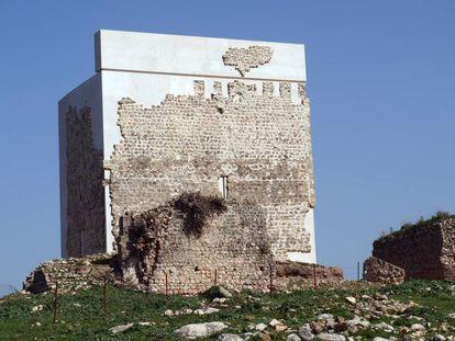 Matrera castle following its controversial restoration.