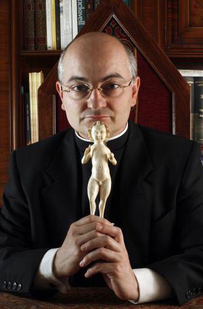The exorcist José Antonio Fortea in 2008.