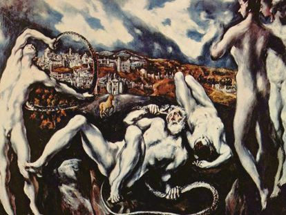 'The Laocoön,' painted by by El Greco aroun 1610 and now in Washington's National gallery of Art, was a key influence on 20th-century Expressionism.