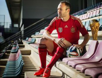 """Iniesta: """"I'm ready to embark on the challenge in Brazil."""""""