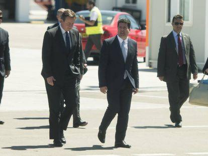 David Cameron during his 2016 visit to Gibraltar.
